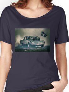 BLOKY Motorfest Burnout Women's Relaxed Fit T-Shirt