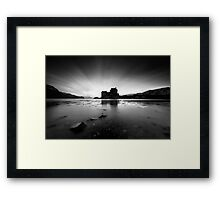 Highland High Tide Framed Print