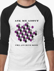 Ace Hive Mind Men's Baseball ¾ T-Shirt