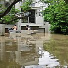 Brisbane Floods 2011 - Inundation - To The Corso by Neil Ross