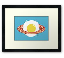 Planet Breakfast Framed Print