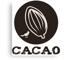 CACAO Canvas Print