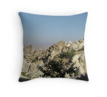 Cappadocia hills Throw Pillow