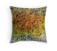 Undersea design. Throw Pillow