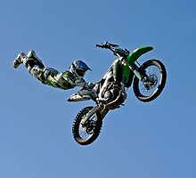 Kawasaki Demo Team - 2011 Australian Grand Prix. by Dean Perkins