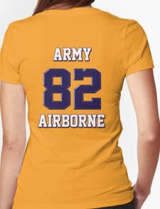 Army 82 Airborne Womens Fitted T-Shirt