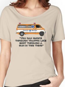 Cannonball Run Ambulance Women's Relaxed Fit T-Shirt