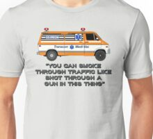 Cannonball Run Ambulance Unisex T-Shirt