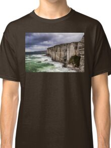 France. Normandy. Cliffs of Etretat. The other side. Classic T-Shirt
