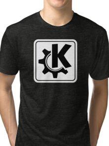 KoquerorWhiteIcon Tri-blend T-Shirt