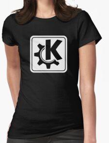 KoquerorWhiteIcon Womens Fitted T-Shirt