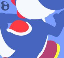 Yoshi (Blue) - Super Smash Bros. Sticker