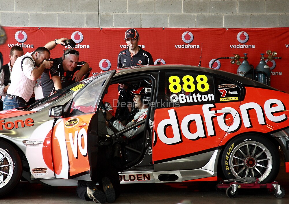 Jenson Button - V8 Supercar drive at Bathurst by Dean Perkins