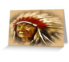 CHIEFTAIN Greeting Card