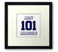 Army 101 Airmobile Framed Print