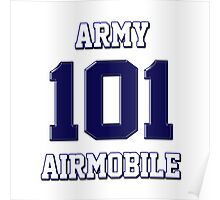 Army 101 Airmobile Poster