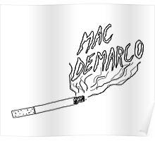 Mac Demarco Cig Poster