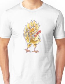 Animal Parade Chicken Silhouette Unisex T-Shirt