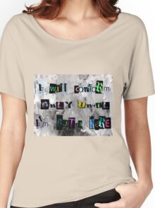 Conformity until Free Women's Relaxed Fit T-Shirt