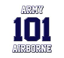 Army 101 Airborne Photographic Print
