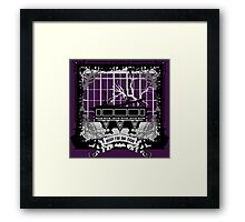 """let me out, let me outta here . . ."" by Topher Adam Framed Print"