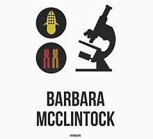 BARBARA MCCLINTOCK (Dark Lettering) - Clothing & Other Products Unisex T-Shirt