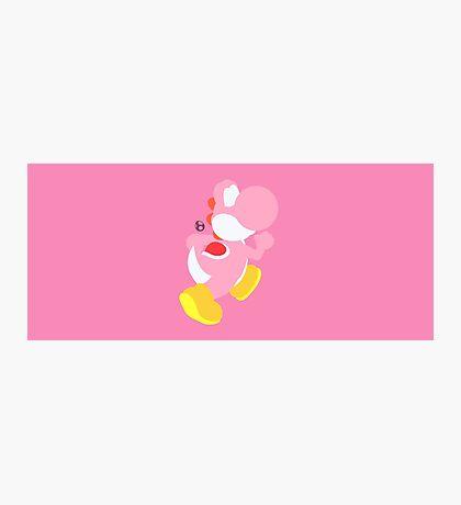 Yoshi (Pink) - Super Smash Bros. Photographic Print