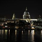 St Paul&#x27;s by night by MarcW