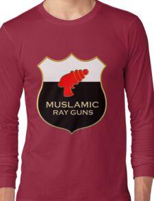 'Muslamic Ray Guns' Large Emblem Long Sleeve T-Shirt