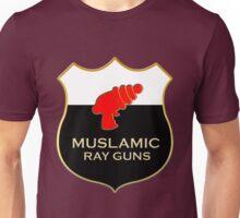 'Muslamic Ray Guns' Large Emblem Unisex T-Shirt