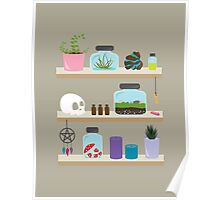 Witch Shelves, The Other Wall Poster
