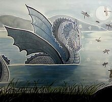 Dragon Charmer - Enchanted Dragon Art by CarolOchs
