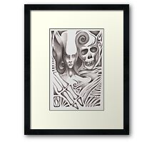 A Friendly hand by Cahl Schroedl Framed Print