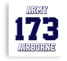 Army 173 Airborne Canvas Print