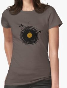 Enchanting Vinyl Records Womens Fitted T-Shirt