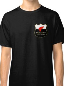 'Muslamic Ray Guns' Emblem Classic T-Shirt