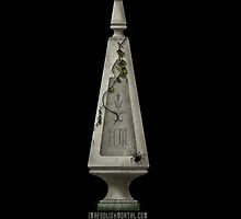 Grave Stone by Topher Adam by Afoolishmortal