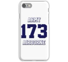 Army 173 Airborne iPhone Case/Skin