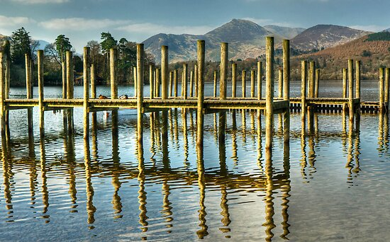 Derwentwater Jetties by VoluntaryRanger