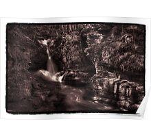 Adams Falls (wide) Poster