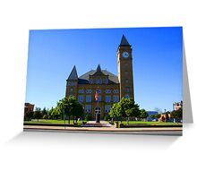 Small Town Greeting Card