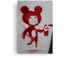 Mouse Spray Canvas Print
