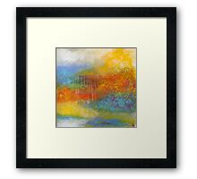 Confection. 24 x 24. Acrylic Painting. Framed Print
