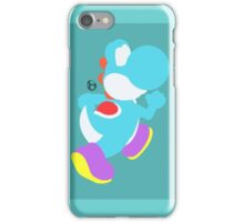 Yoshi (Cyan) - Super Smash Bros. iPhone Case/Skin