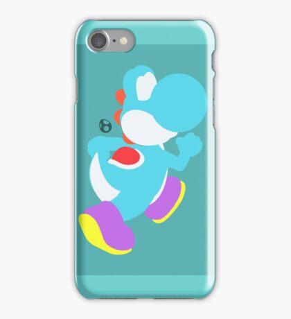 Yoshi (Cyan) - Super Smash Bros. iPhone Case/Skin