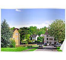 Ticknall Village from Ingleby Lane Poster