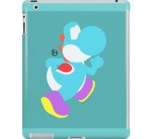Yoshi (Cyan) - Super Smash Bros. iPad Case/Skin