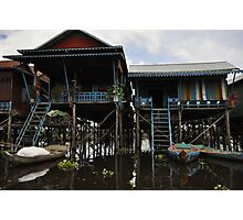 A house on stilts Photographic Print
