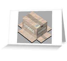 Metal Gear Solid Isometric Greeting Card