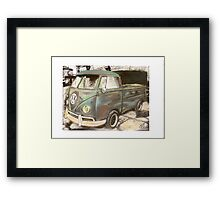 Green Goddess Framed Print